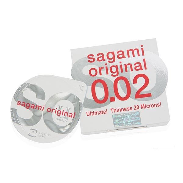 کاندوم ساگامی | 1 عدد | مقاوم ترین و نازک ترین کاندوم با ضخامت 0.02 میلی متر