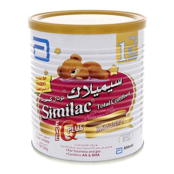 شیرخشک سیمیلاک توتال کامفورت 1 ابوت | غذای کامل حاوی انواع ویتامین برای کودکان از بدو تولد