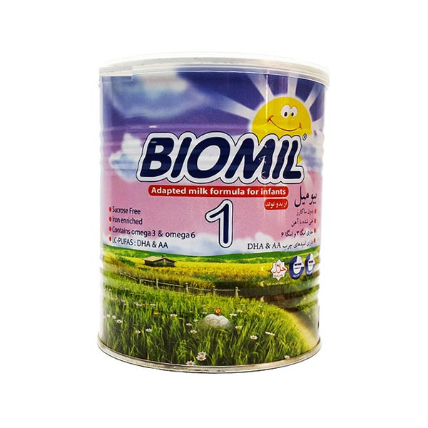 شیر خشک بیومیل 1 فاسکا | تامین کننده نیاز غذایی نوزادان از بدو تولد