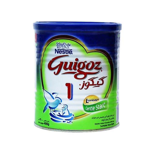 شیر خشک گیگوز 1 نستله | غذای کامل و حاوی انواع ویتامین و مواد معدنی از بدو تولد