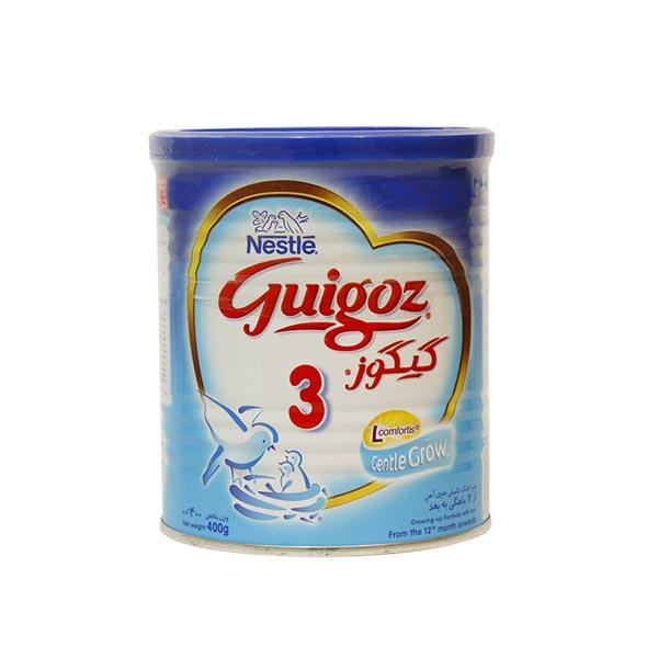 شیر خشک گیگوز 3 نستله | غذای کامل نوزادان از 12 ماهگی به بعد