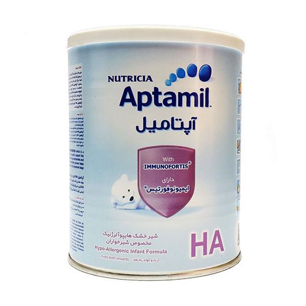 شیر خشک آپتامیل اچ آ نوتریشیا | ترکیب انحصاری و کمک به سیستم ایمنی کودک