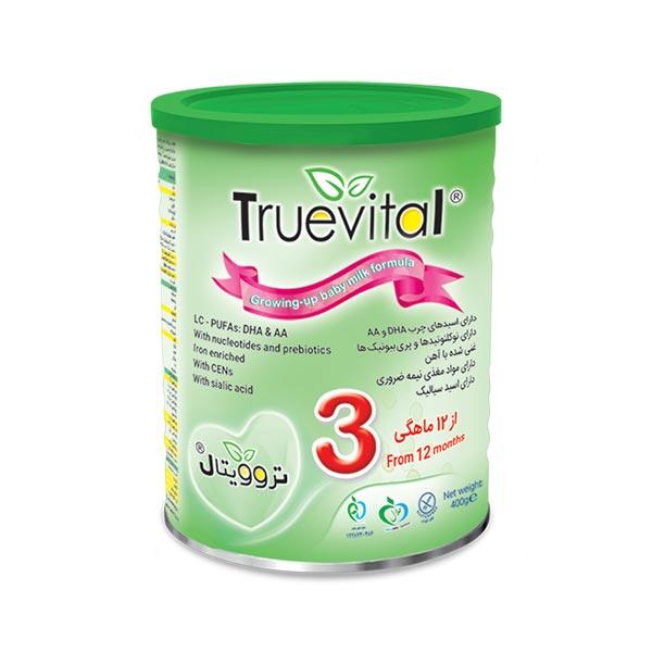 شیرخشک تروویتال 3 تروویتال | حاوی انواع ویتامین برای کودکان یک سال به بالا