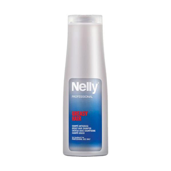 شامپو موهای چرب نلی پروفشنال | 400 میلی | تنظیم کننده چربی و پاک کننده