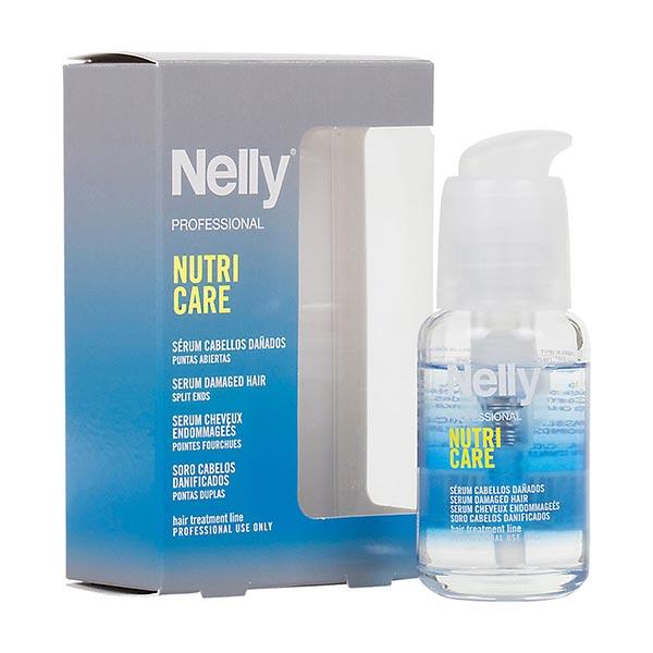 سرم درمانی ضد موخوره نلی   45 میل   بازسازی و آب رسانی عمیق به مو