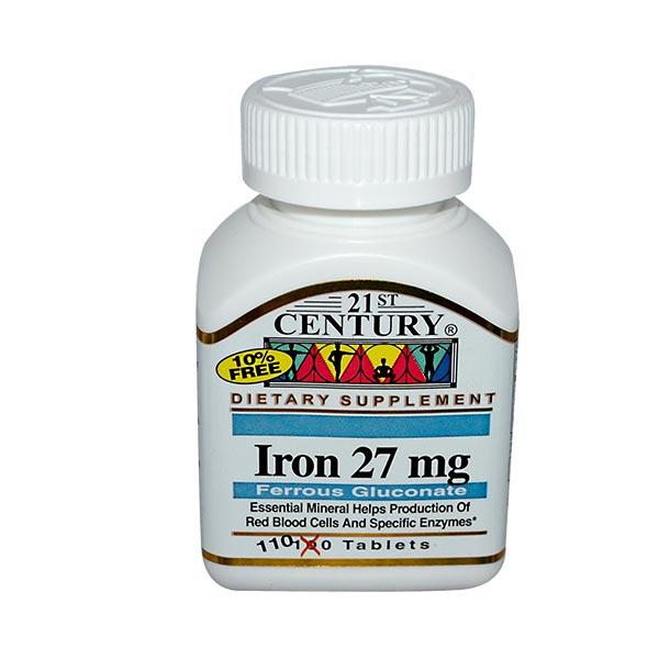 مکمل آهن سنتری | 110 عدد | ضد کم خونی و تامین آهن مورد نیاز بدن