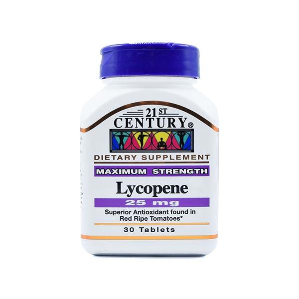 قرص لیکوپن 21 سنتری | 30 عدد | آنتی اکسیدان برای حفظ سلامت پروستات، قلب و سیستم ایمنی