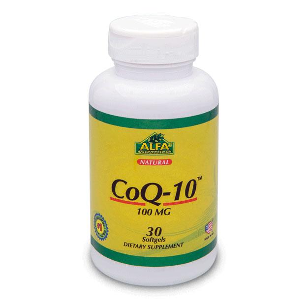 کپسول کوکیوتن آلفا ویتامین | 30 عدد | کمک به سلامت قلب و عروق و کاهش فشارخون