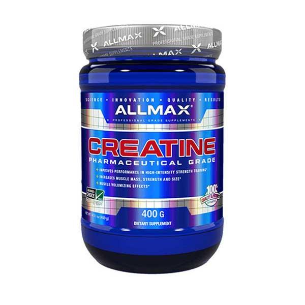 پودر کراتین مونوهیدرات آلمکس   400 گرم   افزایش انرژی، توان و قدرت عضلات