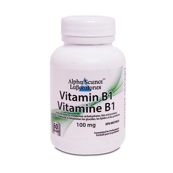 کپسول ویتامین ب 1 آلفا ساینس | 60 عدد | بهبود نارسایی احتقانی قلب و دستگاه عصبی
