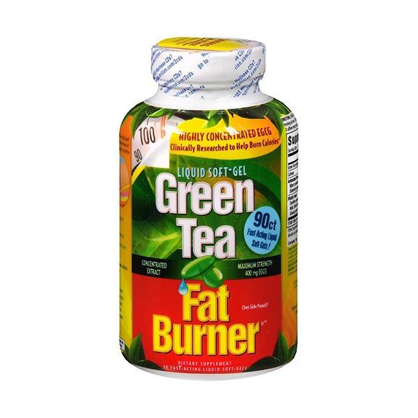 کپسول گرین تی فت برنر اپلاید نوتریشن | 90 عدد | کاهش وزن و سوزاندن چربی با عصاره چای سبز
