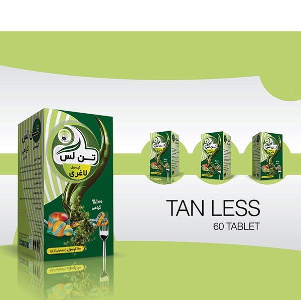 کپسول گیاهی تن لس آرتیمان | ایجاد لاغری و چربی سوز شکم