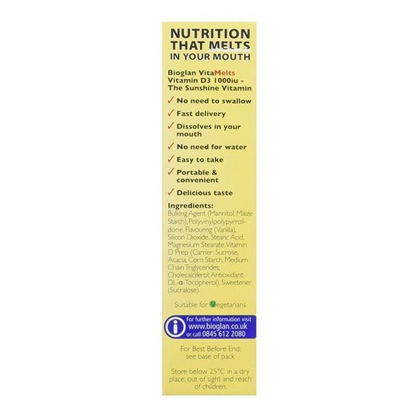 قرص ویتامین D ویتاملتس بایوگلن | 30 عدد | تقویت عضلات و استخوان ها