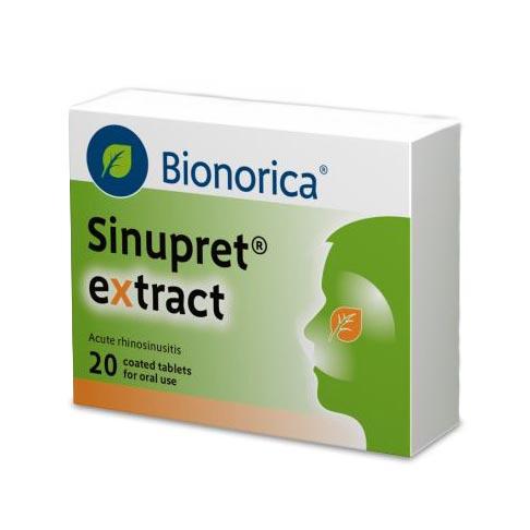 قرص سینوپرت اکسترکت بیونوریکا | 20 عدد | برطرف کننده علائم سینوزیت و درد و التهاب سینوس ها