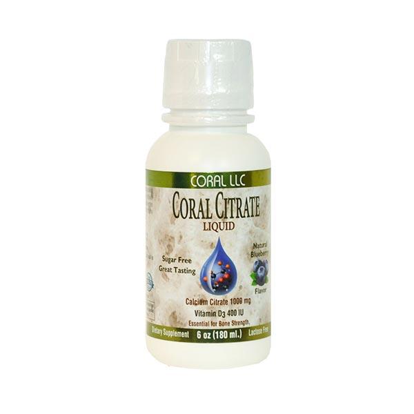شربت کورال سیترات کورال | 180 میلی لیتر | تأمین کلسیم و ویتامین دی و جلوگیری از پوکی استخوان