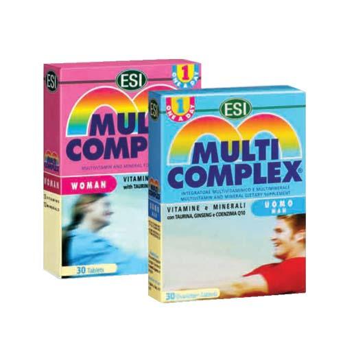 قرص مولتی کمپلکس آقایان ای اس آی   30 عدد   ترکیبی از 28 ویتامین و مواد معدنی