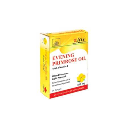 کپسول ایونینگ پریم رز الیت | 36 عدد | کمک به بهبود سندرم پیش از قاعدگی و مشکلات یائسگی