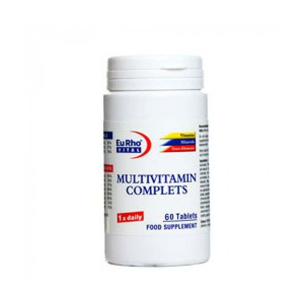 قرص مولتی ویتامین ویتافیت یورو ویتال | 60 عدد | تامین کننده ویتامین ها و مواد معدنی