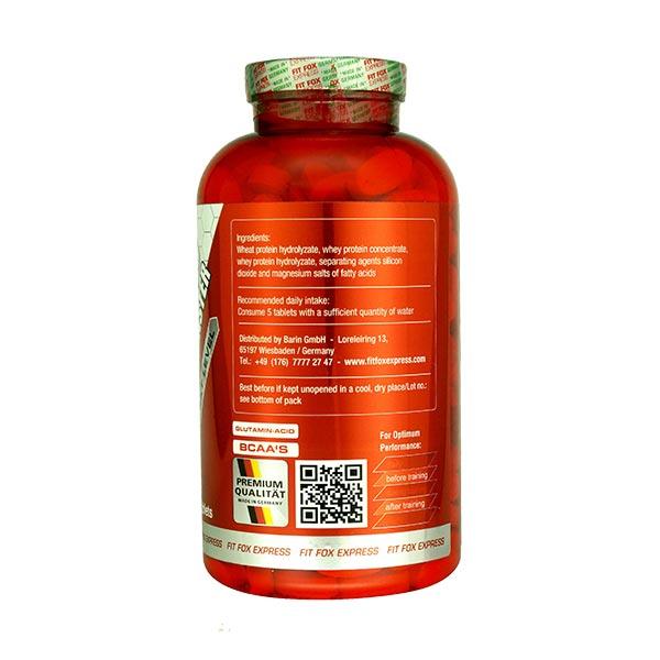 قرص آمینو 6000 فیت فاکس   300 عدد   کمک به ریکاوری و جلوگیری از ضعف عضلات