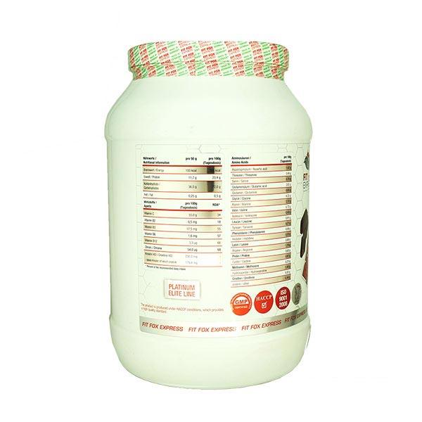 پودر بیف گینر فیت فاکس | 2500 گرم | افزایش وزن و حجم، فاقد لاکتوز و گلوتن