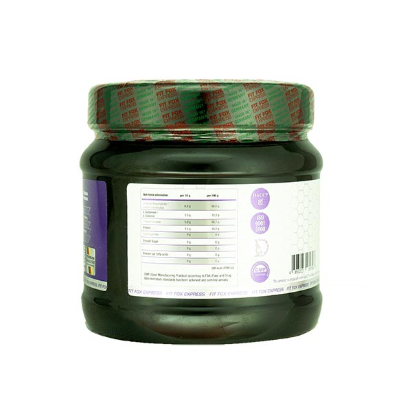پودر کراتین و گلوتامین فیت فاکس | 300 گرم | ترکیب خاص برای افزایش کارایی و استقامت عضلات