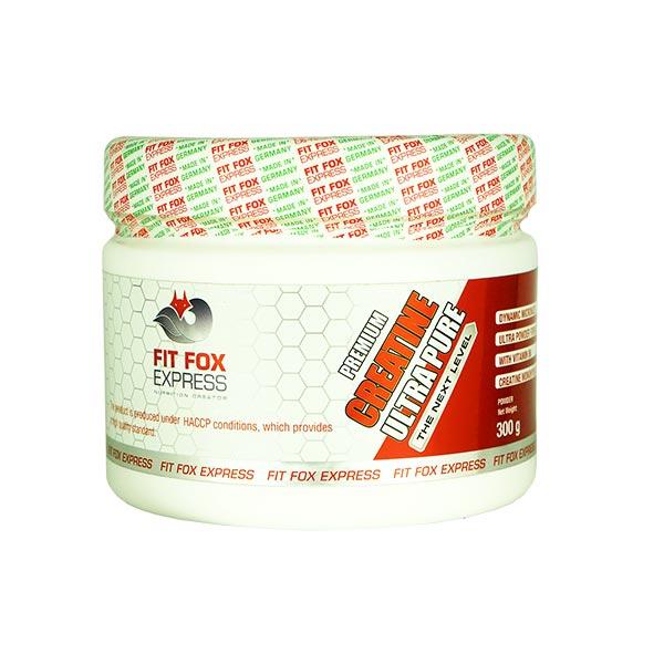 پودر کراتین اولترا پیور فیت فاکس | 300 گرم | افزایش استقامت و توان عضلات