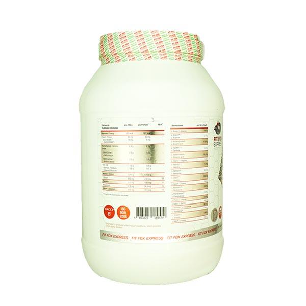 پروتئین وی فیت فاکس | 2000 گرم | پروتئین با کیفیت برای افزایش حجم عضلات با جذب سریع