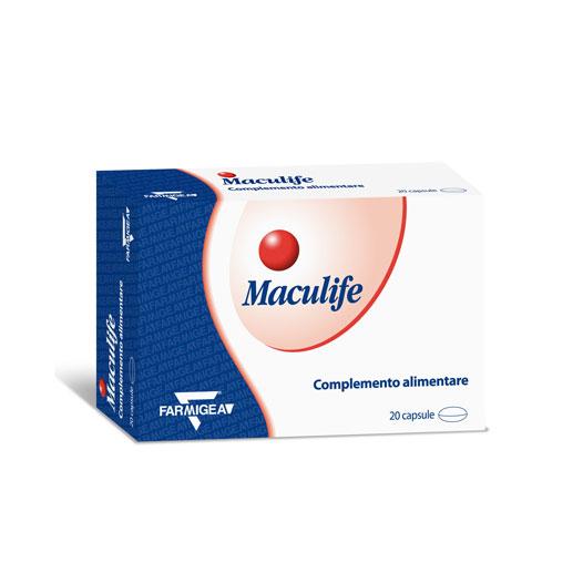 کپسول ماکولایف فارمیجیا   20 عدد   کمک به حفظ عملکرد و سلامت شبکیه چشم