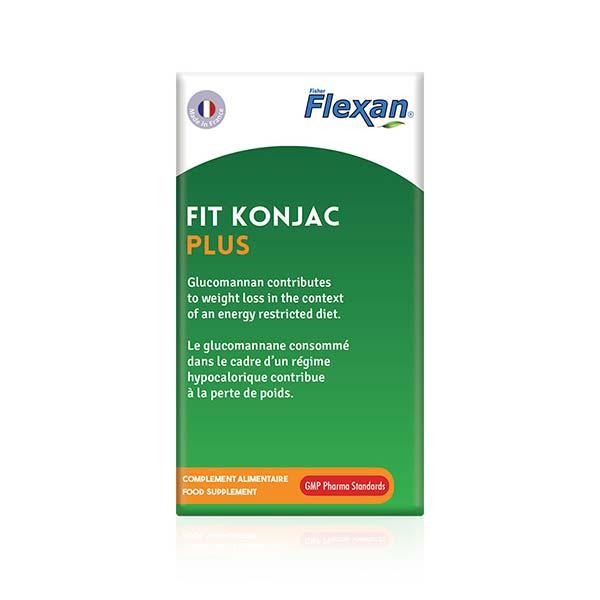 کپسول چربی سوز فیت کنجاک پلاس فلکسان | 60 عدد | کاهش اشتها، کاهش وزن و تنظیم قند خون