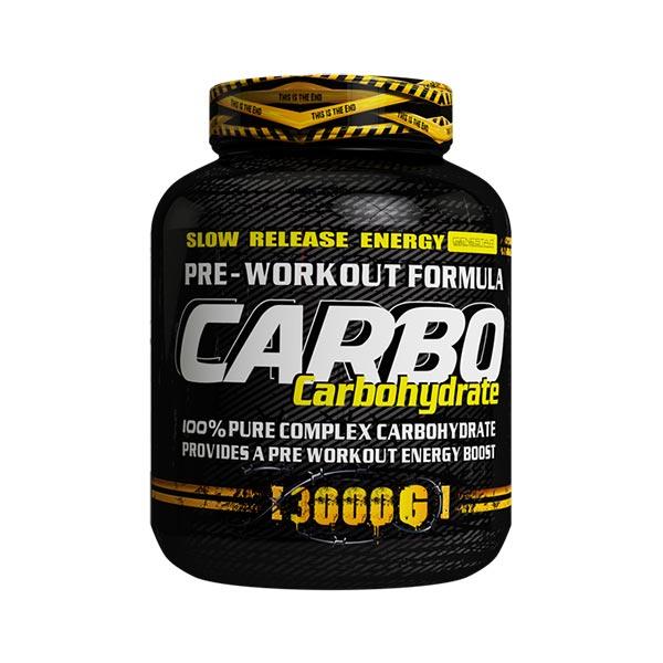 پودر کربو هیدرات ژن استار | 3000 گرم | مناسب وزن گیری و افزایش راندمان ورزشی