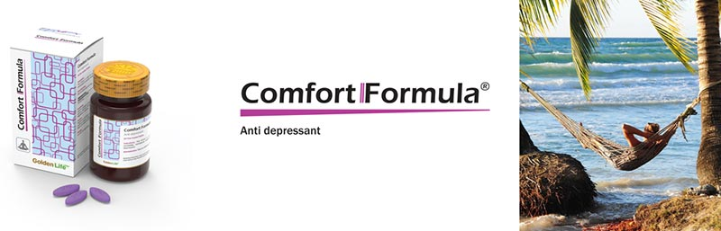 قرص کامفورت فرمولا گلدن لایف | 30 عدد | ضد افسردگی، نشاط آور و تقویت کننده اعصاب