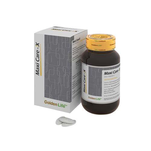 قرص ماکسی کر ایکس گلدن لایف | 30 عدد | تقویت سیستم ایمنی و پوست و مو