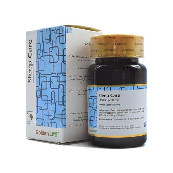 قرص اسلیپ کر گلدن لایف | 30 عدد | کاهش تنش های عصبی و بهبود کیفیت خواب