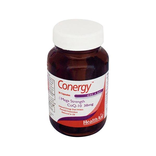 کپسول کونرژی هلث اید | 30 عدد | آنتی اکسیدان و کمک به سلامت قلب و سیستم ایمنی بدن