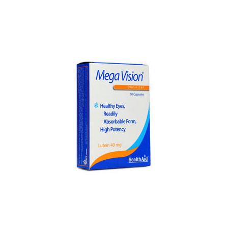 کپسول مگا ویژن هلث اید   30 عدد   تقویت و حفظ سلامت چشم