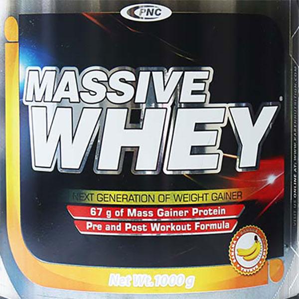 گینر مسیو وی کارن (PNC) | 1000 گرم | عضله ساز و مناسب برای دوره بدنسازی و آمادگی جسمانی