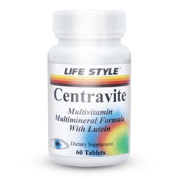 قرص سنتراویت لایف استایل | 60 عدد | مولتی ویتامین روزانه و افزایش مقاومت بدن