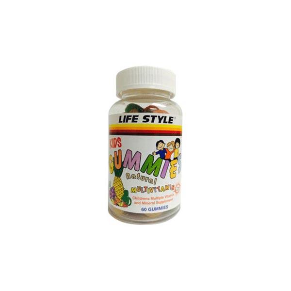 پاستیل کیدز گامی لایف استایل   مولتی ویتامین و تقویت استخوان های کودکان