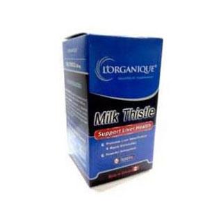 کپسول میلک تیستل لورگانیک | 60 عدد | کمک به حفاظت از کبد و درمان کبد چرب