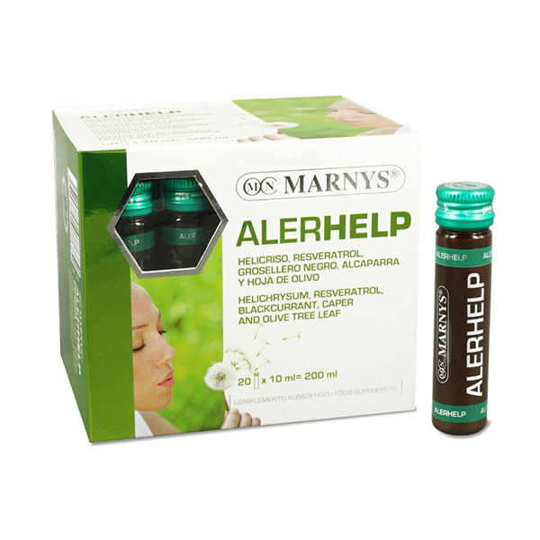 ویال خوراکی آلرهلپ مارنیز | 20 عدد | رفع علائم حساسیت های پوستی و تنفسی