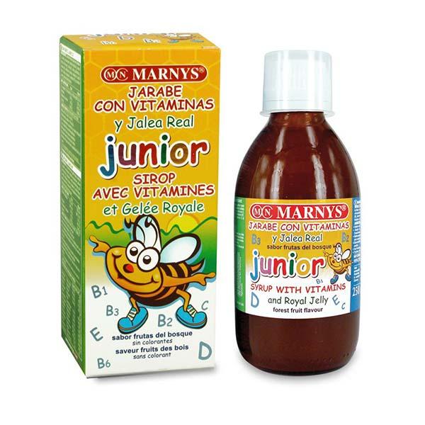 شربت جونیور مارنیز | 250 میل | حاوی رویال ژل، کمک به رشد طبیعی کودک