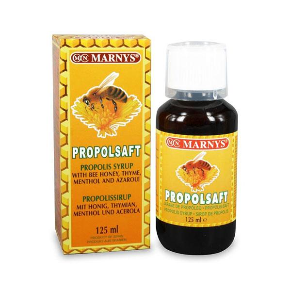 شربت پروپولسافت مارنیز | 125 میلی لیتر | افزایش مقاومت بدن و ضد سرماخوردگی