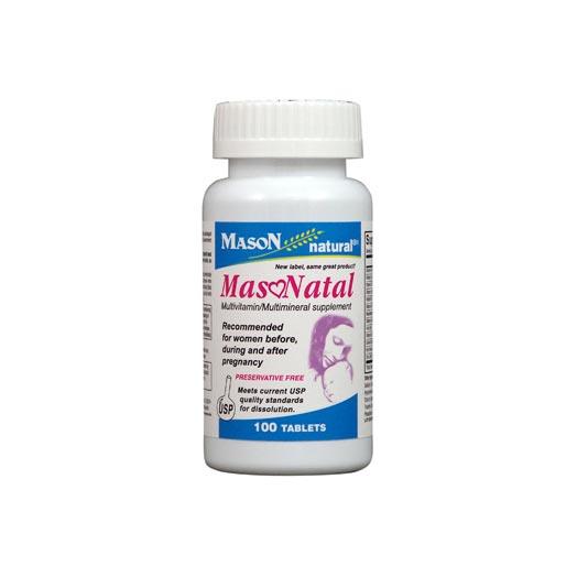 قرص میسوناتال میسون نچرال | مولتی ویتامین، تقویت قوای جسمی مادر و نوزاد در دوران بارداری