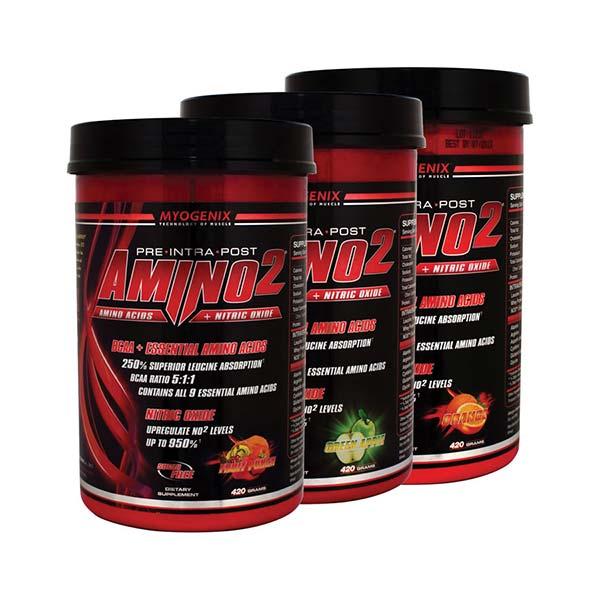 پودر آمینو 2 مایوژنیکس | 420 گرم | کمک به رشد توده ماهیچه و جلوگیری از تحلیل آن