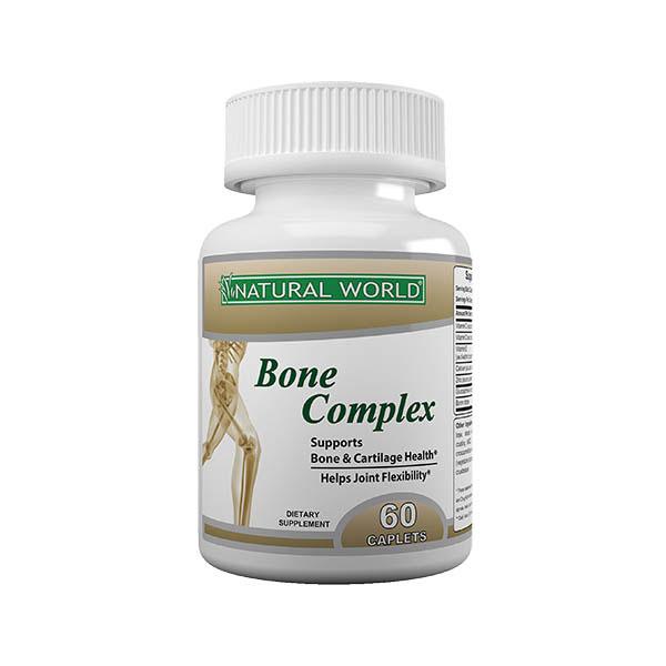 قرص بون کمپلکس نچرال ورلد | 60 عدد | کمک به حفظ سلامت استخوان ها و مفاصل