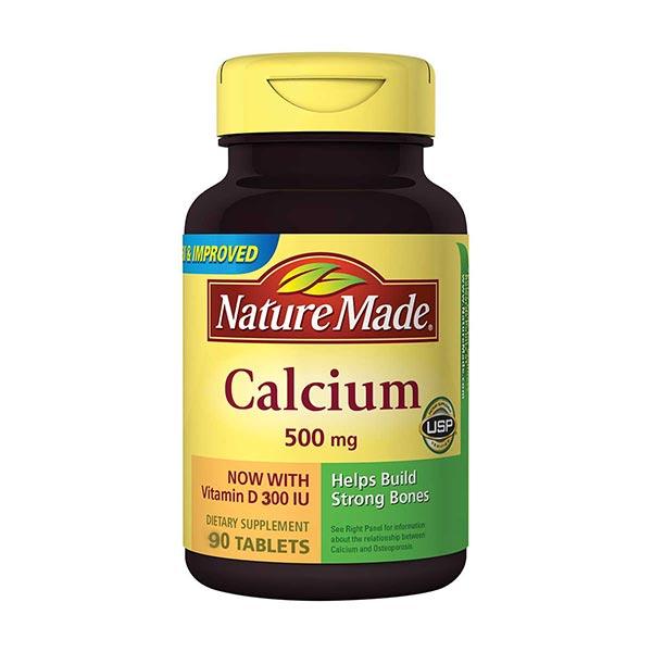 قرص کلسیم و ویتامین D نیچرمید   90 عدد   جلوگیری از پوکی استخوان و کم کاری پاراتیروئید
