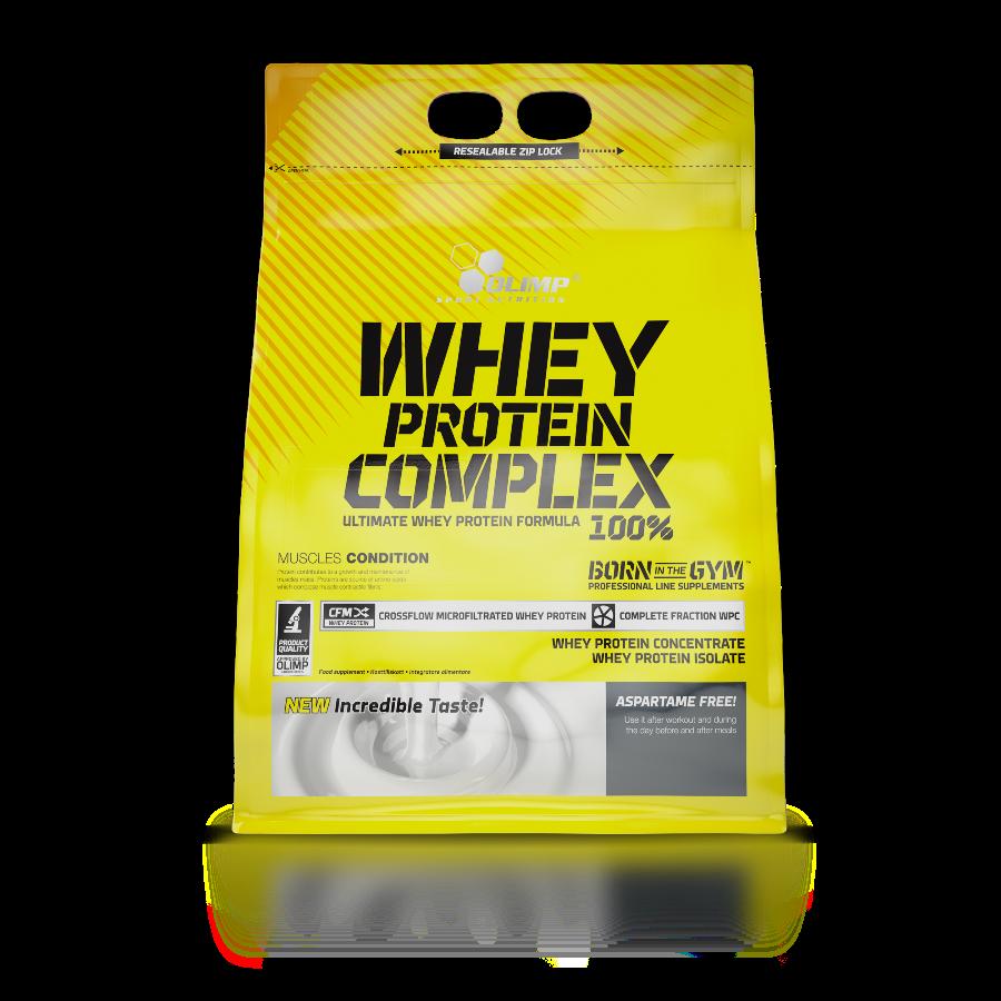 پودر پروتئین وی کامپلکس ۱۰۰% الیمپ    ترکیبی از وی ایزوله و وی کنسانتره برای عضله سازی