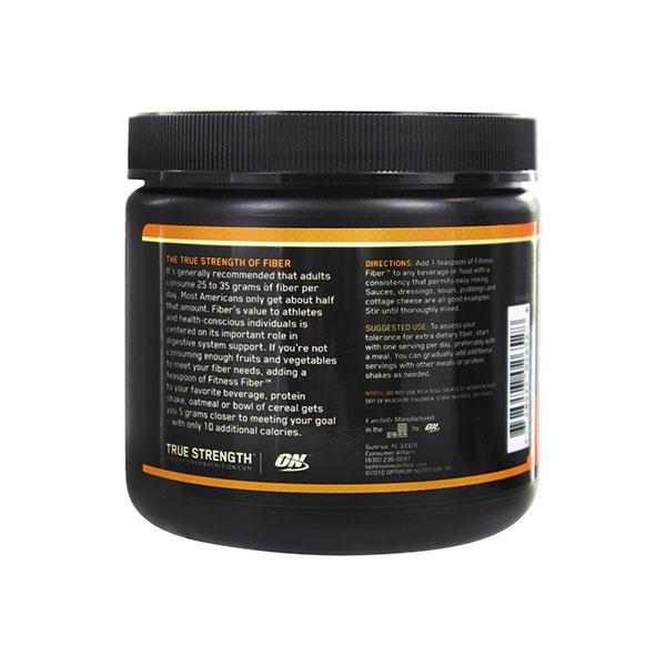 پودر فیتنس فایبر اپتیموم نوتریشن   195 گرم   کنترل اشتها و چربی سوز مناسب برای دوره رژیم