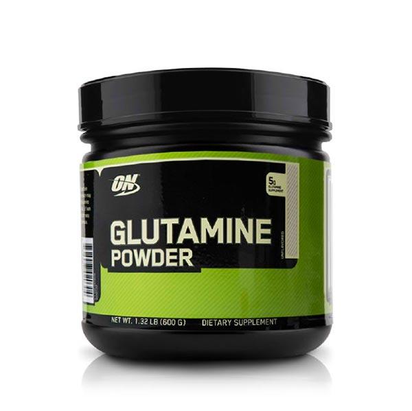 پودر گلوتامین اپتیموم نوتریشن   600 گرم   کمک به ریکاوری و افزایش دهنده حجم عضله
