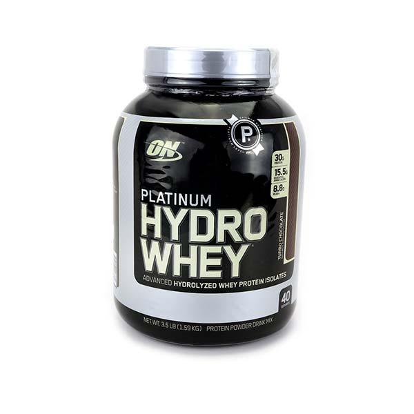 پودر پروتئین پلاتینیوم هیدرو وی اپتیموم نوتریشن | 1590 گرم | کمک به کاهش چربی بدن و افزایش توده عضلانی